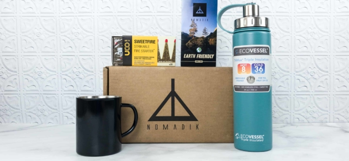 Nomadik April 2018 Subscription Box Review + Coupon