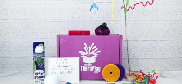 Sensory TheraPLAY Box May 2018 Subscription Box Review + Coupon
