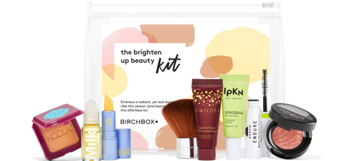 New Birchbox Kit + Free Gift Coupons – The Brighten Up Beauty Kit