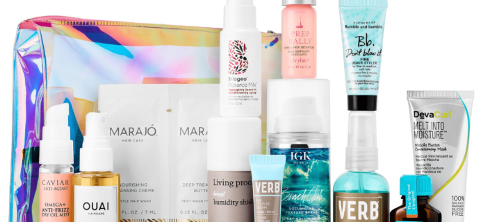 New Sephora Favorites Kits Available Now: Summer Hair Saviors Kit!