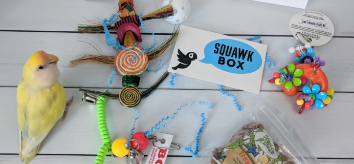 Squawk Box Subscription Review – May 2018