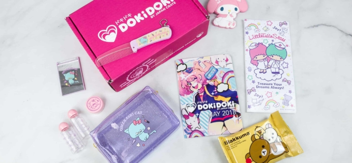 Doki Doki May 2018 Subscription Box Review & Coupon