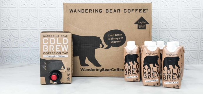 Wandering Bear Coffee Subscription Box Review