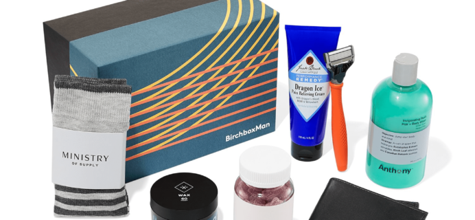 New Birchbox Man Limited Edition Box: The Starting Lineup + Coupons!