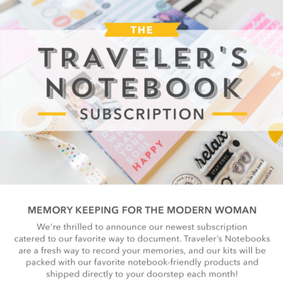 Studio Calico Traveler's Notebook Subscription Available For Pre-Order Now + Spoilers!