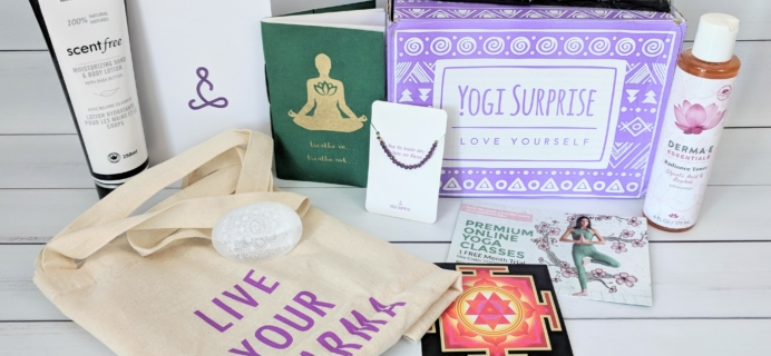 Yogi Surprise Subscription Box Review + Coupon – May 2018