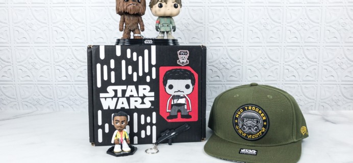 Smuggler's Bounty May 2018 Subscription Box Review – HAN SOLO Box!