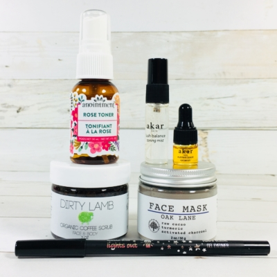Vegan Cuts Beauty Box May 2018 Subscription Box Review