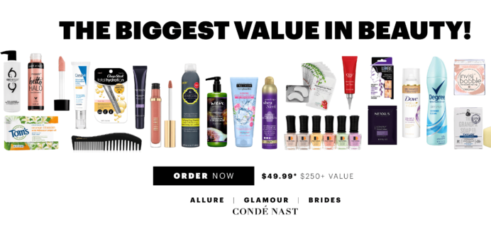 Allure Beauty Swag Box May 2018  Available Now!