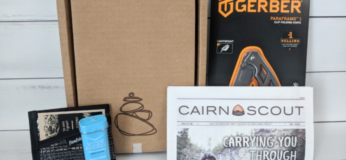Cairn May 2018 Subscription Box Review + Coupon
