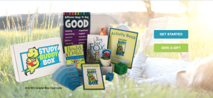 New Subscription Box:  Study Buddy Box Available Now + Free Shipping For Life Coupons!