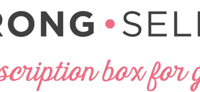 STRONG self(ie) Summer Sale: Get 20% Off Your First Box!