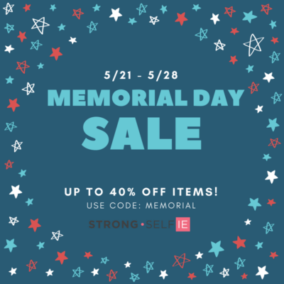 STRONG self(ie) Memorial Day Sale: Get Up To 40% Off!