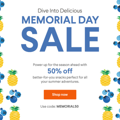 Naturebox Memorial Day Sale Coupon: Save 50% on First Order!