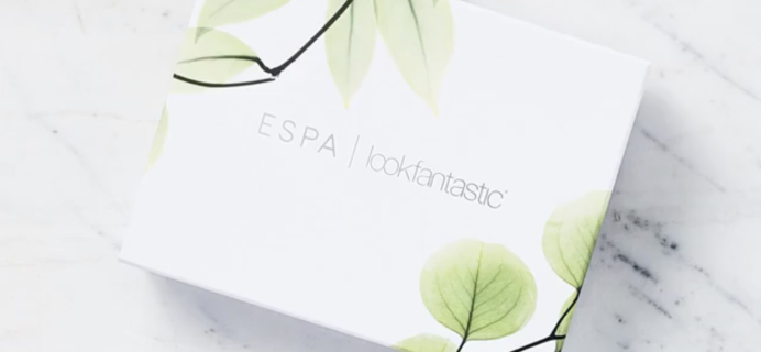 Lookfantastic x ESPA Limited Edition Beauty Box Available Now + Full Spoilers & Coupon!