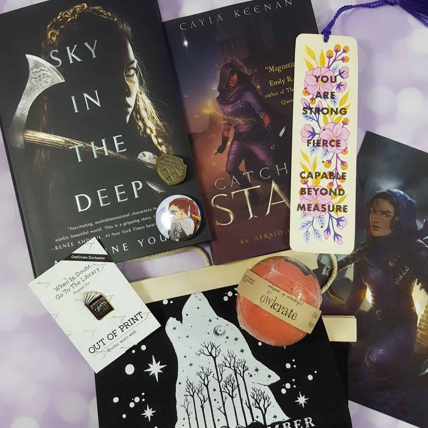 OwlCrate May 2018 Subscription Box Review + Coupon