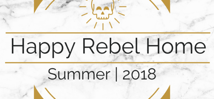 Happy Rebel Box Summer 2018 Full Spoilers!