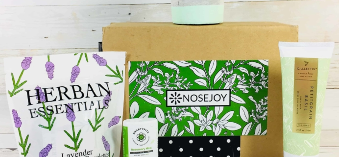 NOSEJOY May 2018 Subscription Box Review + Coupon!