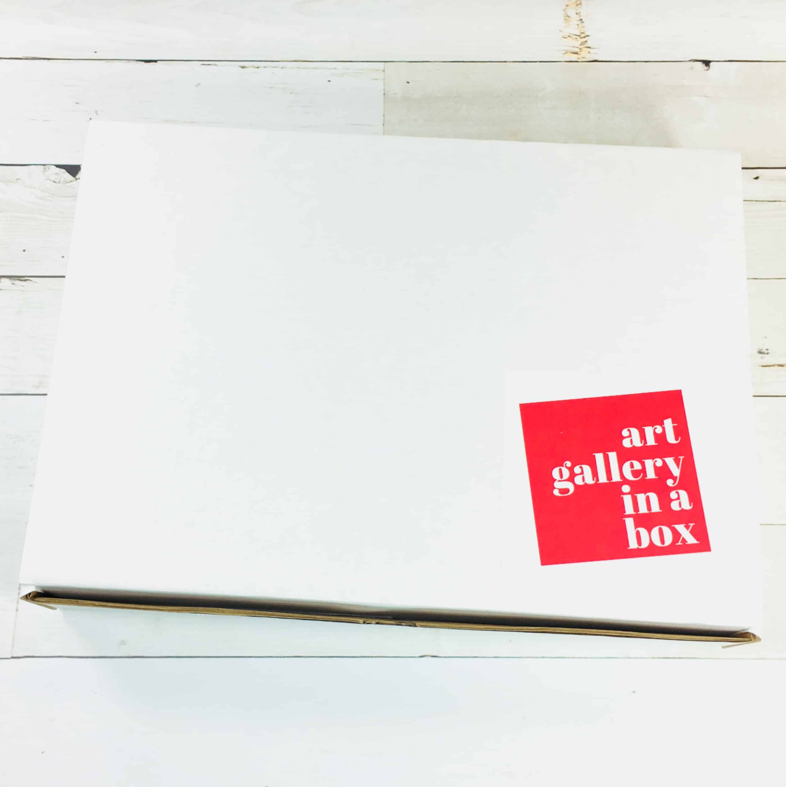 Art Gallery In A Box May 2018 Subscription Box Review Coupon