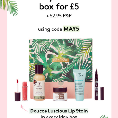 Birchbox UK Coupon : Get Your First Box For £5!