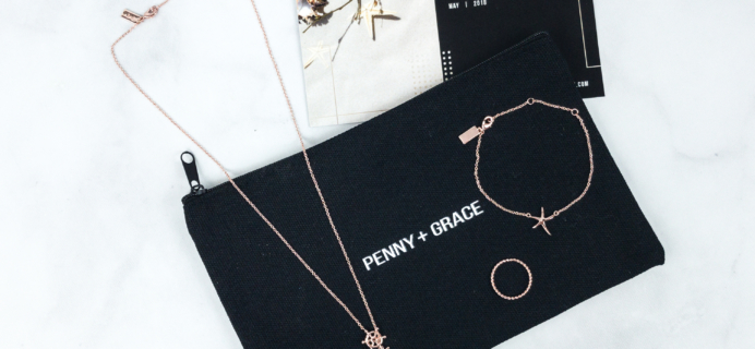 Penny + Grace May 2018 Subscription Box Review