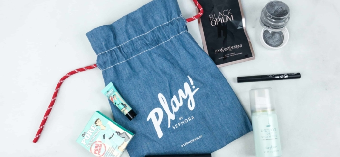 Play! by Sephora May 2018 Subscription Box Review