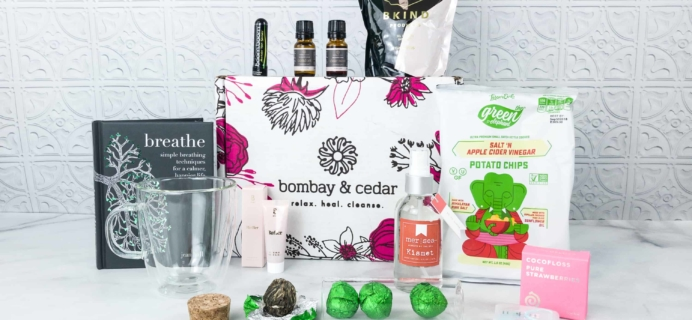 Bombay & Cedar Subscription Box Review + Coupon – May 2018