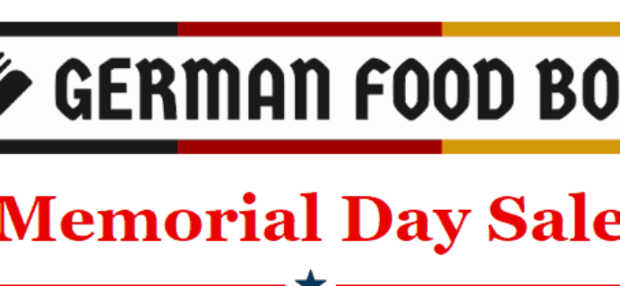 German Food Box Memorial Day Sale: Get 25% Off Your First Box!