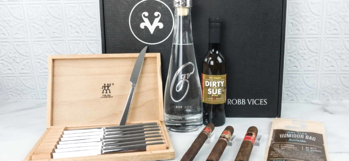 Robb Vices May 2018 Subscription Box Review + Coupon