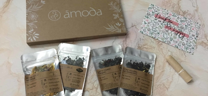 Amoda Tea May 2018 Subscription Box Review + Coupon!