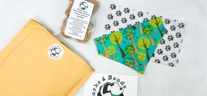 Barks & Beads Subscription Box Review & Coupon – May 2018