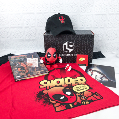 Loot Crate DX May 2018 Subscription Box Review & Coupon