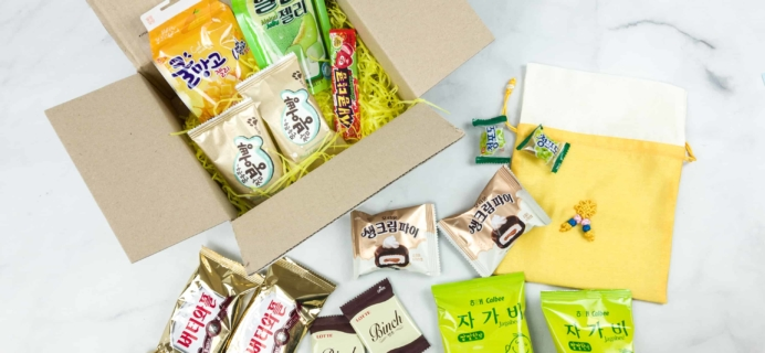 Korean Snack Box June 2018 Subscription Box Review + Coupon