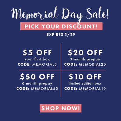 Bombay & Cedar Memorial Day Sale: Up to $50 Off Subscriptions!