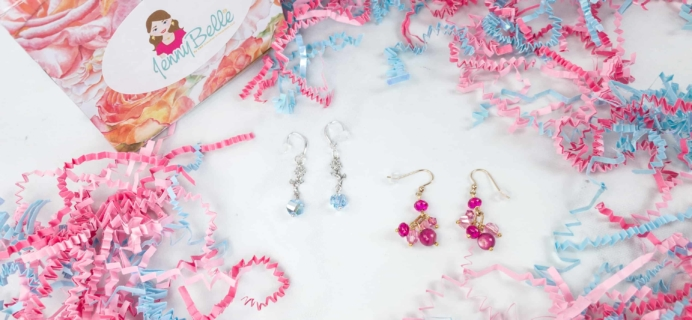 JennyBelle Designs Earrings June 2018 Subscription Box Review + Coupon