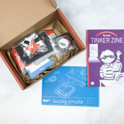 Tinker Crate Review & Coupon – BUZZING CIRCUITS