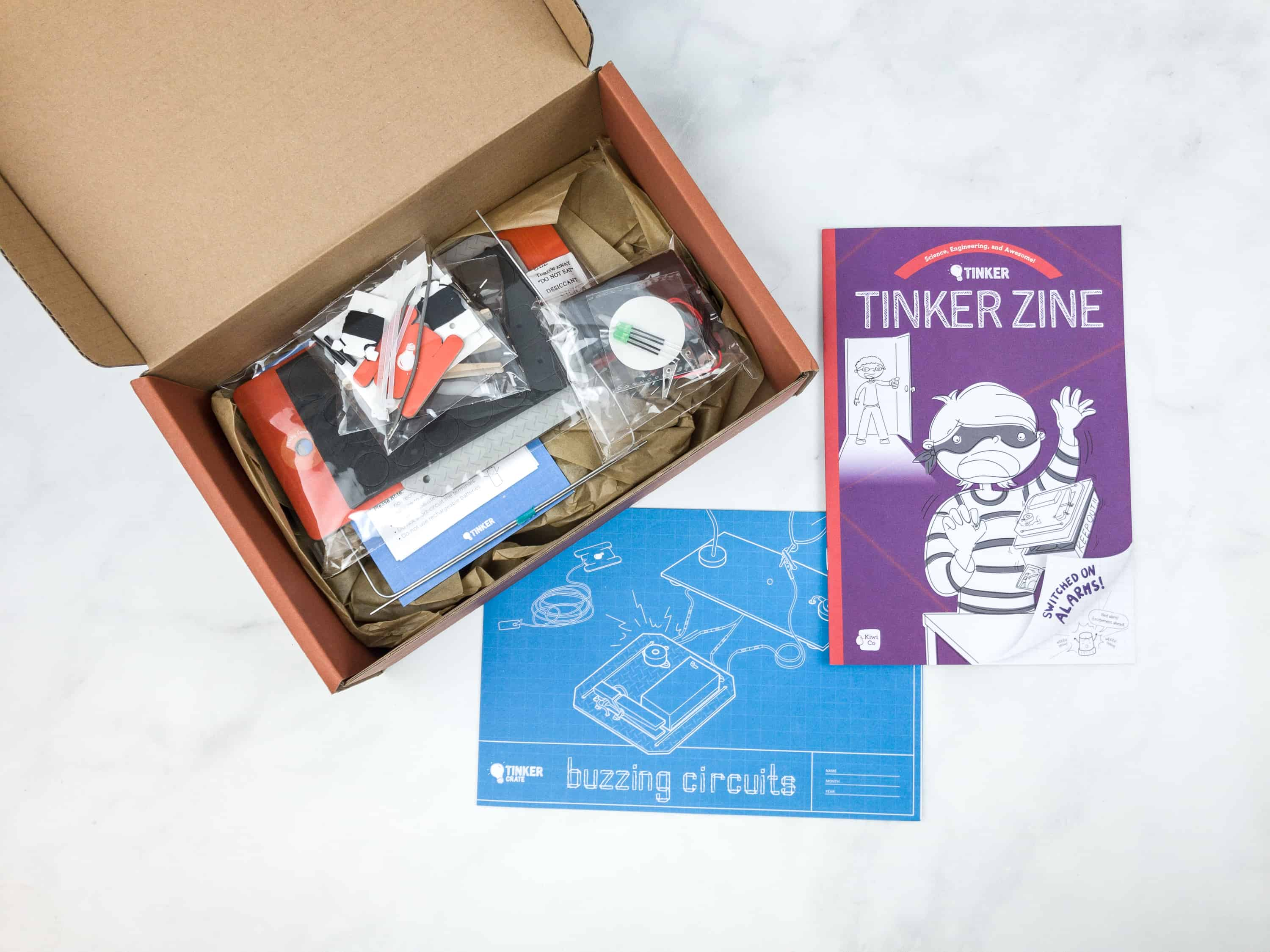 Tinker Crate Review Coupon Buzzing Circuits Hello Subscription Structured Wiring Books Kids Practice Their Problem Solving Skills And Learn How To Engage In Both Open Ended Exploration Investigation