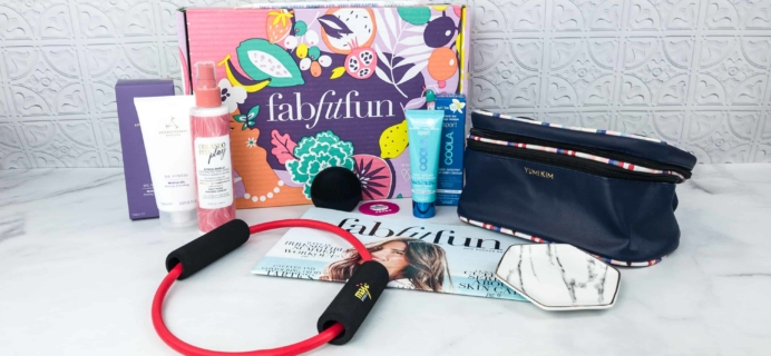 FabFitFun Summer 2018 Box Review + $10 Coupon