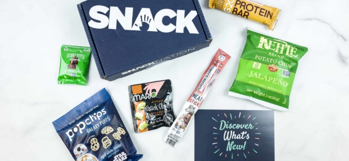 Snack Nation May 2018 Subscription Box Review + Coupon!
