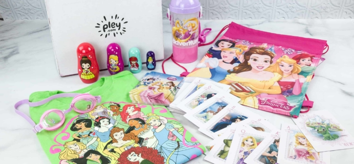 Disney Princess Pleybox May 2018 Subscription Box Review