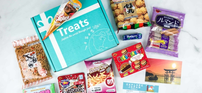 Treats Box May 2018 Review & Coupon