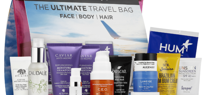 New Sephora Favorites Kits Available Now: The Ultimate Travel Bag Kit!