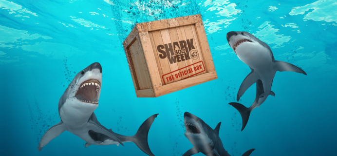 The Official Shark Week Box Available For Pre-Order Now!