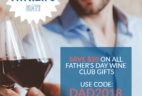 PLONK Wine Club Coupon: Save $20 On All Father's Day Wine Club Gifts!
