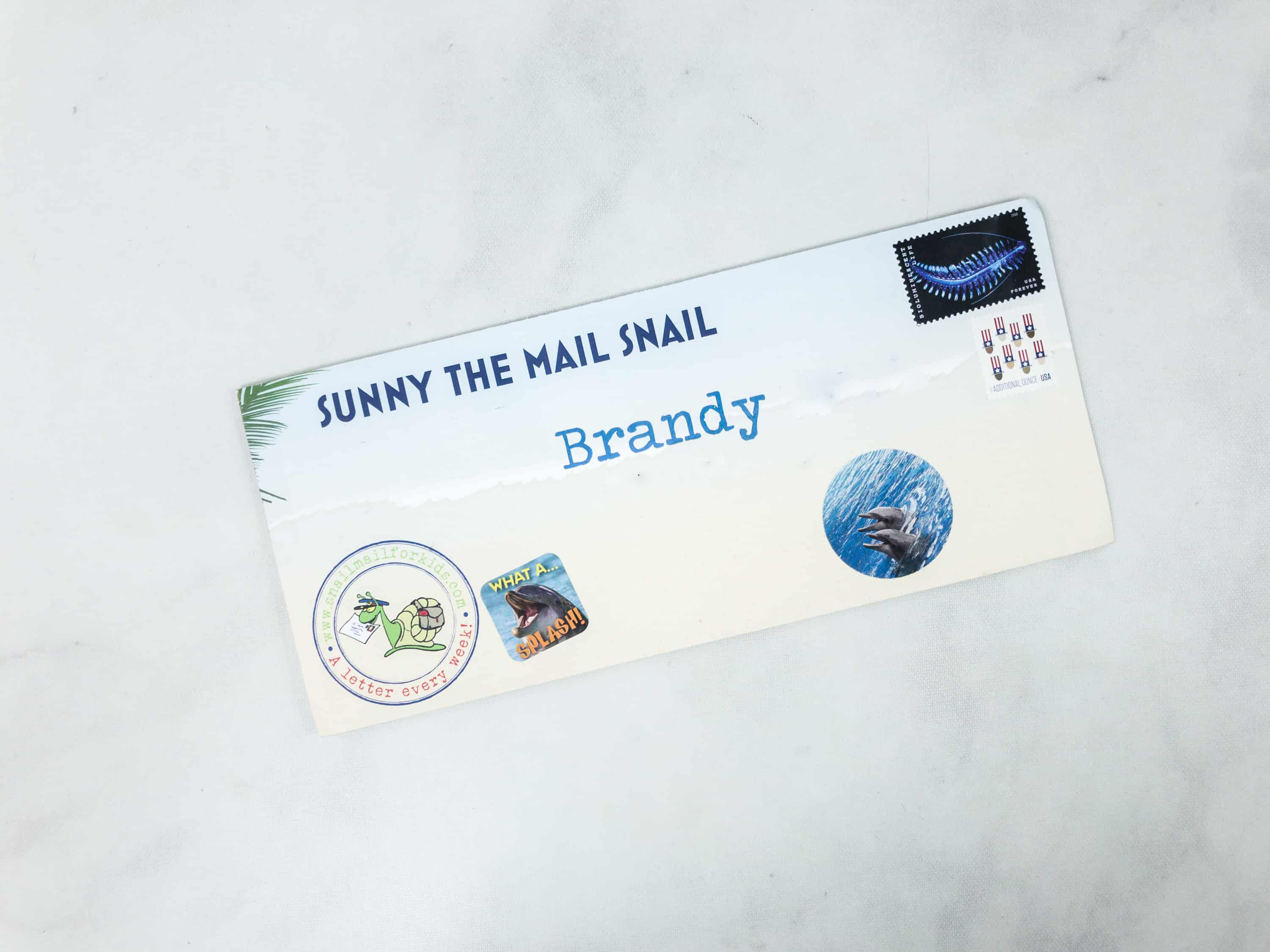Snail Mail for Kids May 2018 Subscription Box Review - WEEK 2 ...