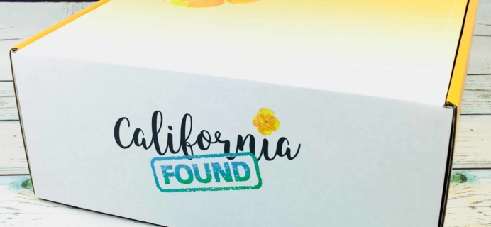 California Found July 2018 Spoiler + Coupon!