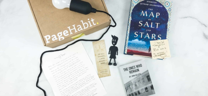 PageHabit May 2018 Subscription Box Review + Coupon – Historical Fiction