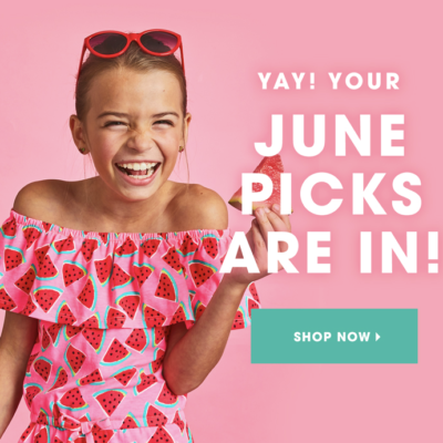 FabKids June 2018 Collection + Coupon!