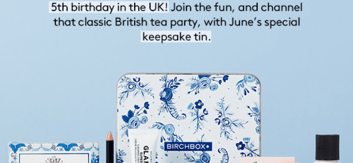 Birchbox UK June 2018 Spoiler + Coupon!
