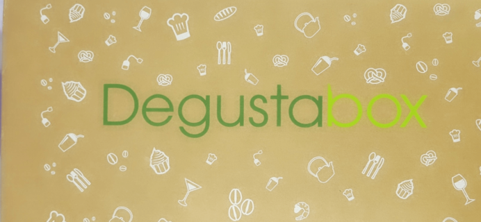 DegustaBox May 2018 Subscription Box Review + First Box 50% Off Coupon!